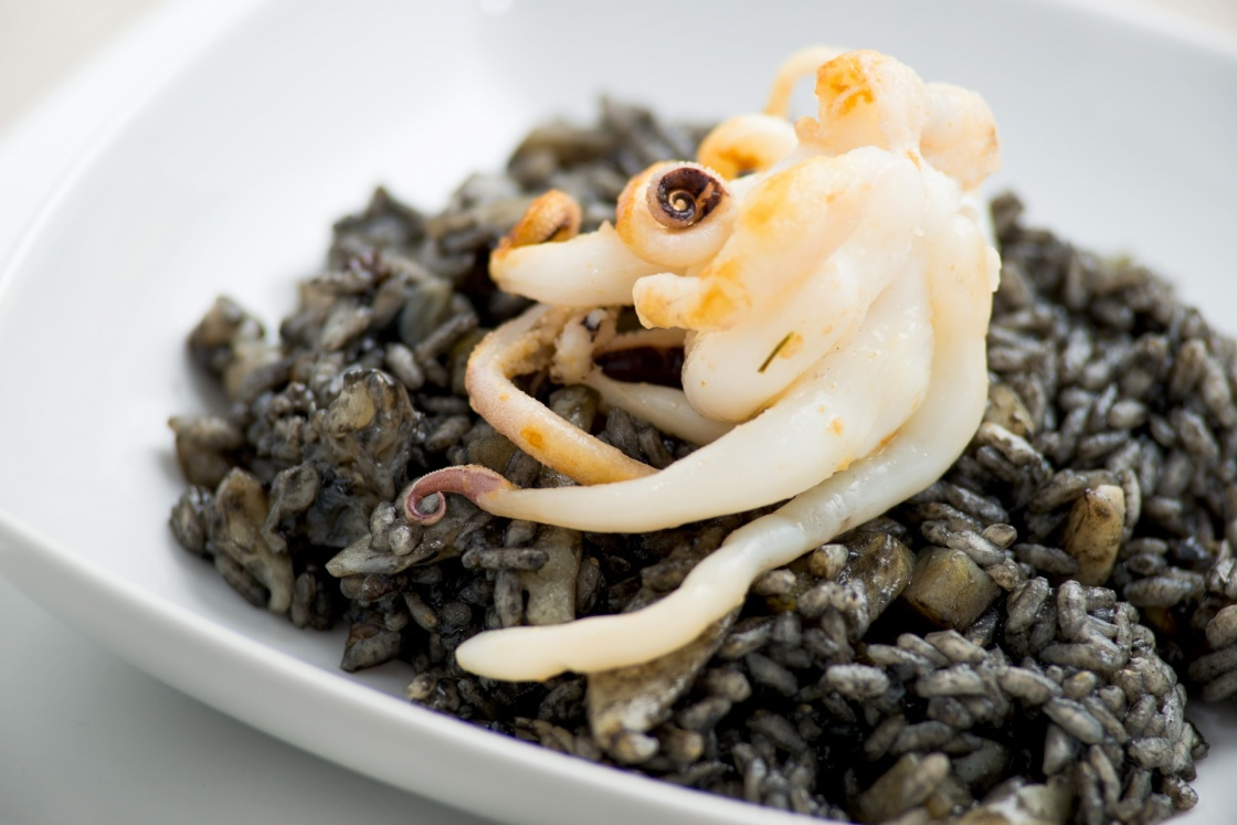 risotto with cuttlefish